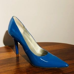 Worthington Patent pumps, Royal Blue Size 9